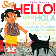 2018 Pink Shirt Day -- 2 Languages - Say Hello Book Cover